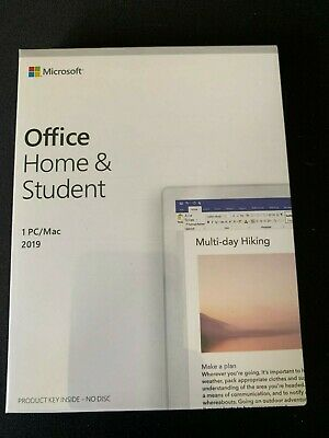 Microsoft Office 2019 Home / Student