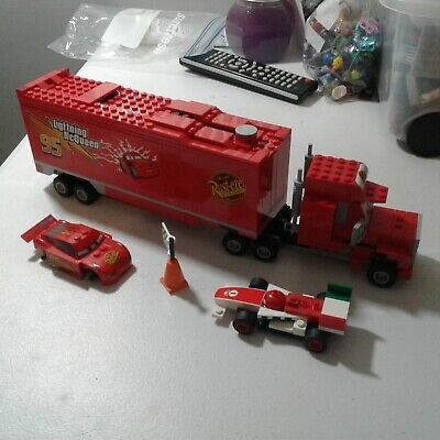 LEGO Disney Pixar Cars Mack's Team Truck 8486 Incomplete
