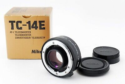 【Near Mint】Nikon TC-14E AF-I Teleconverter 1.4x AF-S with Box from Japan 404779