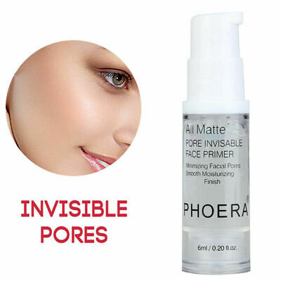 PHOERA Face Primer Oil~Control Whitening Pores Blemish Covering Makeup Base Cool