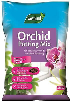 Westland Orchid Potting Compost Mix and Enriched with Seramis, 4 L