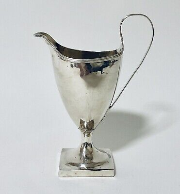 Quality Antique 18th Century Georgian Solid Sterling Silver Cream Milk Jug 1792