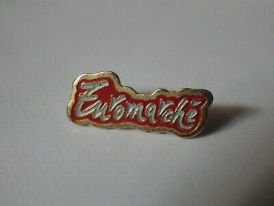 Pin's Vintage Collector Lapel Pin Advertising Euromarket Lot A061
