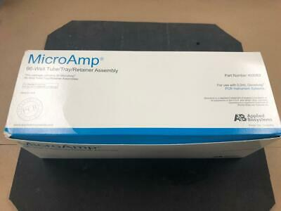 Applied Biosystems Microamp 96-well tube tray retainer assembly box of 20
