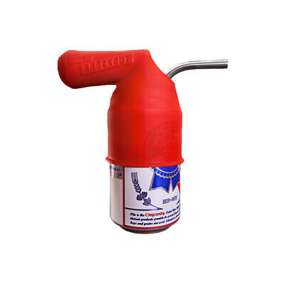 The Knockout XL - Beer Funnel - Portable, Durable, Silicone & Stainless Steel