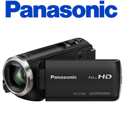Panasonic HC-V180K Full HD Camcorder 50x Stabilized Optical Zoom Touch-Enabled