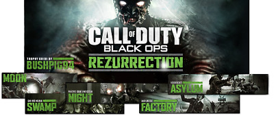 Call of Duty Black Ops DLC Packs 1 2 3 4 - PS3 Account Credentials Slot
