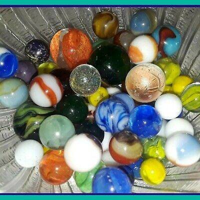 Akro Agate Antique Glass Marble Cullet Oddity 3 Quot And 2 1 2