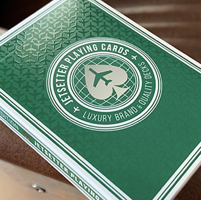 Premier Edition in Jetsetter GREEN by Jetsetter Playing Cards