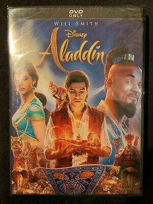 Aladdin Live with Will Smith (DVD 2019) [BRAND NEW SEALED] - FREE FAST SHIPPING!