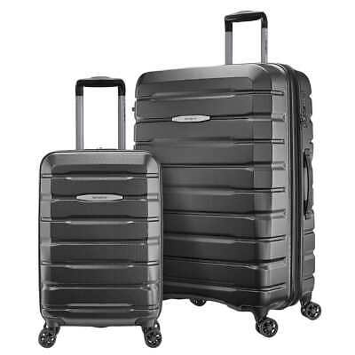 "Samsonite Tech 2.0 2 pieces 28"" & 21"" Travel Luggage Hardside Set GRAY"