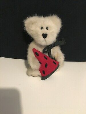 "6-1//2/""! /""PIPLEY MACRIND/"" NEW W//TAGS BOYDS PAIR OF BEARS w//WATERMELON SLICE!"