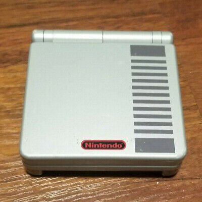 Nintendo Classic NES Limited Edition Game Boy Advance SP Handheld System