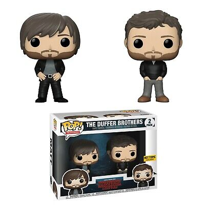 Funko Pop! Duffer Brothers Stranger Things Hot Topic Exclusive FREE SHIPPING