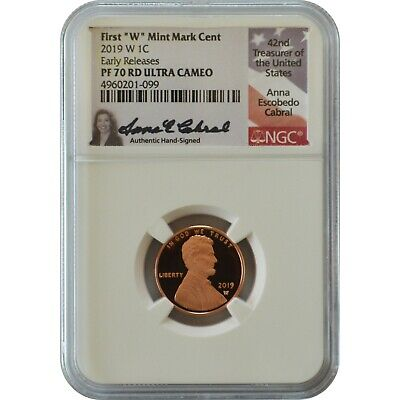2019 S Nickel First Releases NGC PF70 Ultra Cameo Portrait