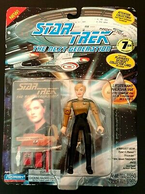 Star Trek The Next Generation Lieutenant Natasha Yar NEW 1994 Playmates
