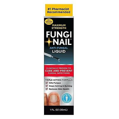 Nail Fungus Treatment Best Fungi-Nail Anti-Fungal Solution Cure Fungal Infection