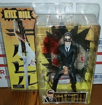 NECA Toys Quentin Tarantino Kill Bill Crazy 88 Director Exclusive Figure *RARE*