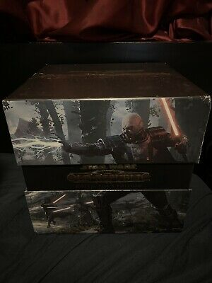 Star Wars Old Republic Darth Malgus Figure With Collector Box Only.