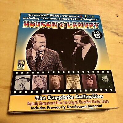 Hudson & Landry- The Complete Collection (Greatest Hits Vol. 1,2,3)  3 CD Set