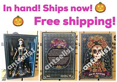 New Barbie Dia De Los Muertos Doll 2019 Day of The Dead Ships Now! In Hand!