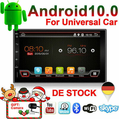 32G+2Gb 2Din Android10.0 Autoradio Mit Gps Navigation Navi Bluetooth Touchscreen