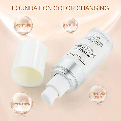 TLM Flawless Color Changing Foundation Makeup Base Face Liquid Cover Concealer d
