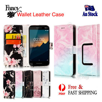 Fancy Stylish Wallet Leather Flip Universal Case Cover for Nokia 2.1 / 2 2018