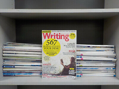 Writing Magazine & Writer's Forum - 89 Mags Collection! (ID:5779)