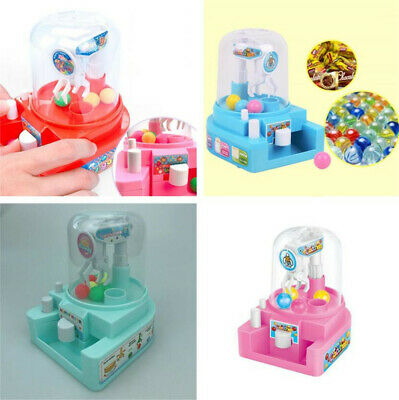 Candy Grabber Machine Desktop Sweet Toy Claw Arcade Game Party Kids Gift UK