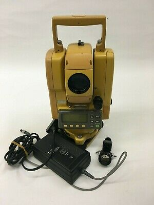 TopCon GTS-211D Total Station with 1 year calibration certificate