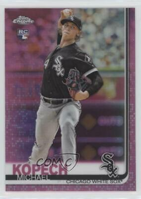 2019 Topps Chrome Pink Refractor #17 Michael Kopech Chicago White Sox Rookie