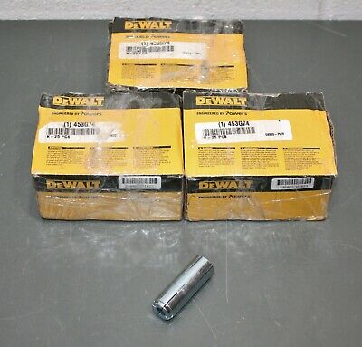 "(72) DeWalt by Powers Steel Drop-In Anchor 06320, 5/8""-11 x 2-1/2"", Non-Flange"