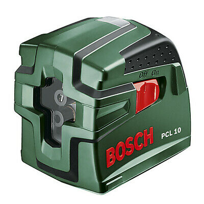 Bosch PCL10 Cross Line Self Leveling Laser Level New