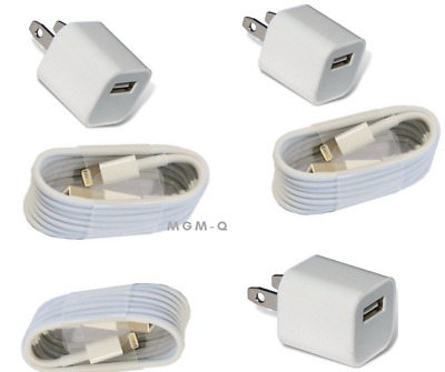 Genuine Original OEM Apple Lightning USB Charger Cable Cord iPhone 6 7 8 X Plus.