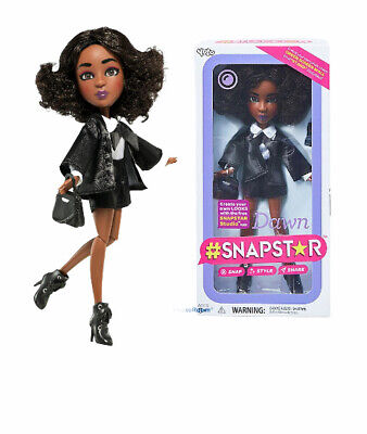 YULU SNAPSTAR DAWN Fashion Diva Doll Stand And Studio App NEW For 2019