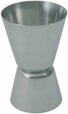 Double Sized Cocktail Measure Device Jigger Measuring from Stainless Steel Cup