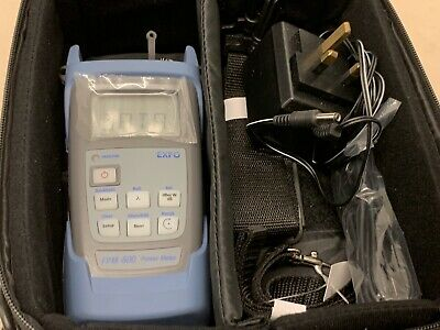 Exfo Fpm-600 Optical Power Meter Optical Loss Test