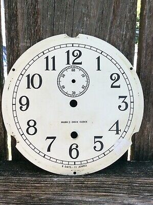 Mark 1 Deck Clock   Time Only, Clock Dial