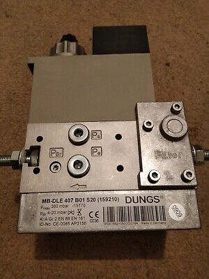 Dungs Gas Valve MB-DLE407B01S20 (159210)