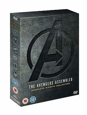 Marvel Avengers 4-movie Box Set Ultron Infinity War Endgame Blu-ray - IN HAND!