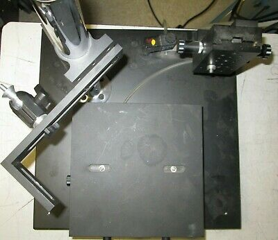 Rotating X-Y Positioning Stage with Base & Camera / Microscope Stands