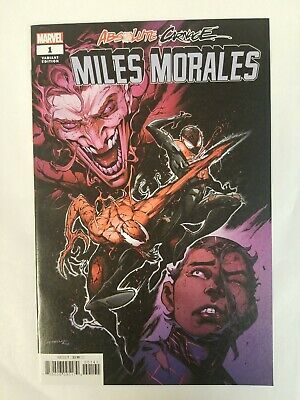 Absolute Carnage Miles Morales #1 1:50 Iban Coello Variant Cover NM