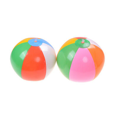 Mini beach balls multi colored 28cm inflatable pool beachball party favorsds GN
