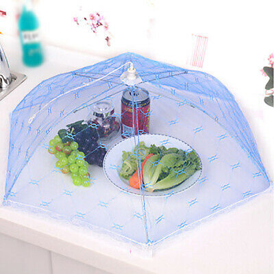 Umbrella Style Picnic Anti Fly Mosquito Tent Meal Cover Table Mesh Food Cover~GN