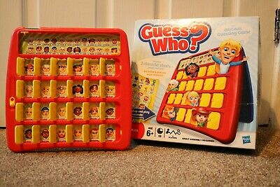 Hasbro board games guess who kids game guess who?