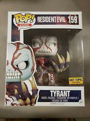 "Funko Pop! Resident Evil Tyrant #159 Hot Topic Exc 6"" Vinyl Figure"