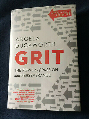 GRIT: The Power of Passion and Perseverance by Angela Duckworth (HC)
