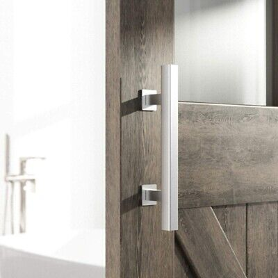 Heavy Duty 12 Inches Square and Flush Two-Side Barn Door Handle for Sliding B4N8