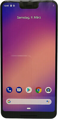 Google Pixel 3 XL - 64GB - clearly white weiß Ohne Simlock Android Smartphone